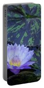 Violet Lily Portable Battery Charger