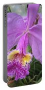 Violet Orchid Portable Battery Charger