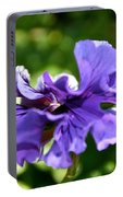 Violet Ruffles Portable Battery Charger