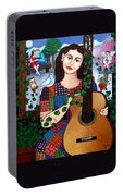 Violeta Parra Back At Seventeen   Portable Battery Charger