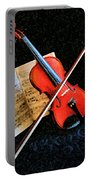 Violin Impression Redux Portable Battery Charger