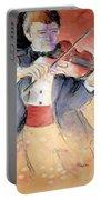 Violin Man Portable Battery Charger