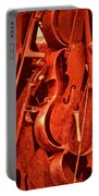 Violin Sculpture  Portable Battery Charger