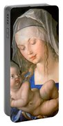 Virgin And Child Holding A Half-eaten Pear, 1512 Portable Battery Charger