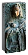 Virgin Mary Relief Portable Battery Charger