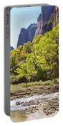 Virgin River In Zion National Park Portable Battery Charger