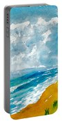 Virginia Beach With Pier Portable Battery Charger