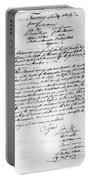 Virginia Council, 1778 Portable Battery Charger