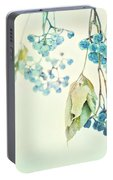 Virginia Creeper Berries Portable Battery Charger
