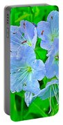 Virginia Waterleaf Near Alamo-michigan Portable Battery Charger