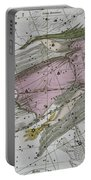 Virgo From A Celestial Atlas Portable Battery Charger by A Jamieson