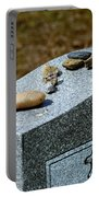 Visitation Stones On Jewish Grave Portable Battery Charger