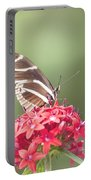 Visitor In The Garden Portable Battery Charger