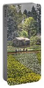 Visitors On Daffodil Hill Portable Battery Charger
