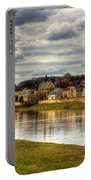 Vistula River In Cracow Portable Battery Charger