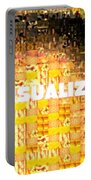 Visualize Gold Portable Battery Charger