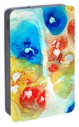 Vitality - Contemporary Art By Sharon Cummings Portable Battery Charger