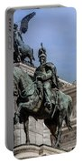Vittorio Emanuele II Monument In Rome Portable Battery Charger
