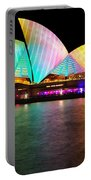 Vivid Sydney 2014 - Opera House 1 By Kaye Menner Portable Battery Charger