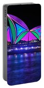 Vivid Sydney By Kaye Menner - Opera House... Patterns 2 Portable Battery Charger