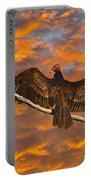 Vivid Vulture Portable Battery Charger by Al Powell Photography USA