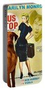 Vizsla Art Canvas Print - Bus Stop Movie Poster Portable Battery Charger