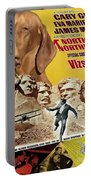 Vizsla Art Canvas Print - North By Northwest Movie Poster Portable Battery Charger