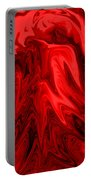 Red Volcanic Dreams Portable Battery Charger