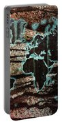 Volcanic Eruption World Map Portable Battery Charger