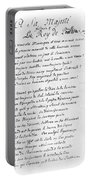 Voltaire Letter, 1740 Portable Battery Charger