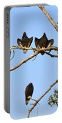 Vulture Tree Full Of Buzzards Portable Battery Charger