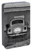 Vw Beetle Digital Painting Portable Battery Charger