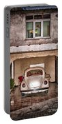 Vw Beetle Painting Portable Battery Charger