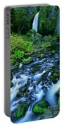 Wachlella Falls Columbia River Gorge National Scenic Area Oregon Portable Battery Charger
