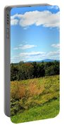 Wachusett Mountain From Tower Hill Portable Battery Charger