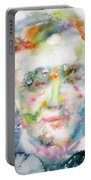Wagner - Watercolor Portrait Portable Battery Charger