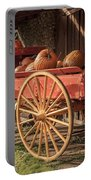 Wagon Full Of Pumpkins Portable Battery Charger