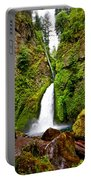 Wahclella Falls In Oregon Portable Battery Charger