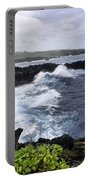Waianapanapa Pailoa Bay Hana Maui Hawaii Portable Battery Charger
