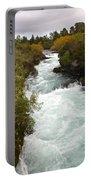 Waikato River Huka Falls Portable Battery Charger