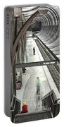 Waiting - Hollywood Subway Station. Portable Battery Charger