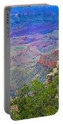 Walhala Overlook On North Rim Of Grand Canyon-arizona  Portable Battery Charger