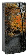 Walk In Golden Fall Portable Battery Charger