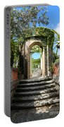 Walk In Vizcaya Gardens Portable Battery Charger