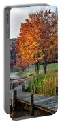 Walk Into Fall Portable Battery Charger
