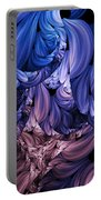 Walk Through The Petals Abstract Portable Battery Charger