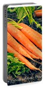 Walk With God - Garden Quote Portable Battery Charger by Edward Fielding