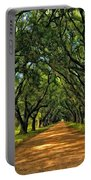 Walk With Me Paint Version Portable Battery Charger