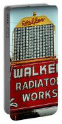 Walker Radiator Works Sign Portable Battery Charger