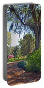 Walking In A Garden Portable Battery Charger